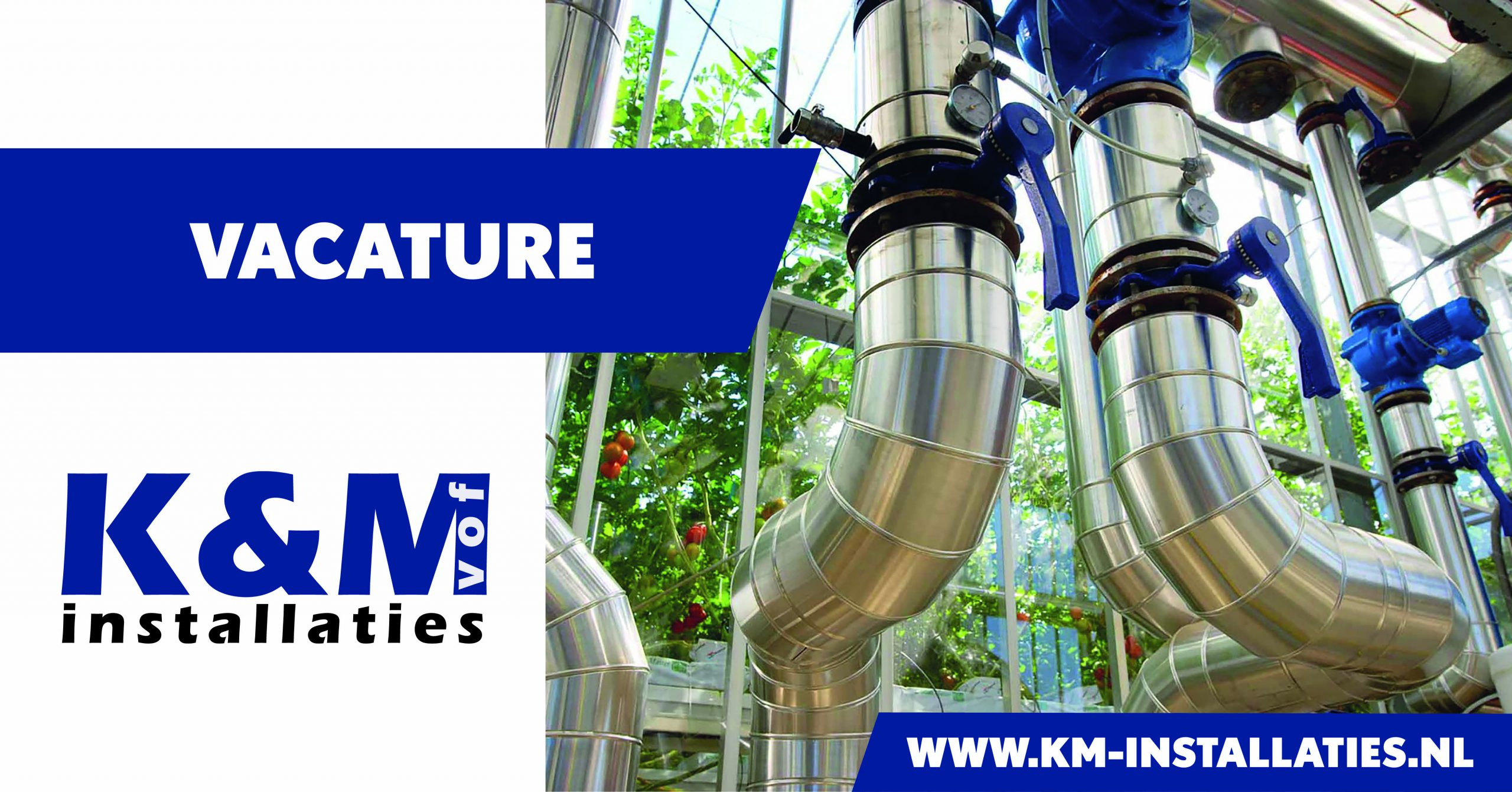 Vacature Technisch Service Coördinator | K&M Installaties